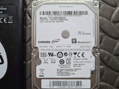 Seagate External Hard Drive Data Recovery Services. 1TB External Seagate ( Samsung ST1000LM024 ) clicking and buzzing sounds
