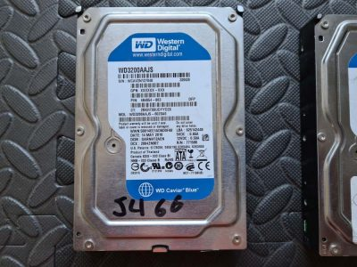 Damaged Western Digital WD3200AAJS 320GB knocked over PC with Sage Data Recovery Services.